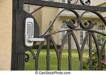 cancello, sicurezza