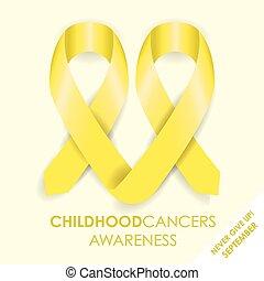 cancro, infanzia, nastro