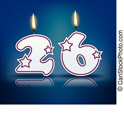 candela, 26, compleanno, numero