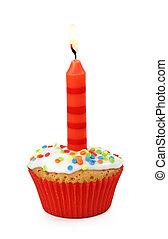 candela, cupcake