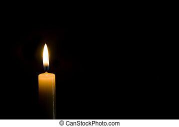 candela, nero