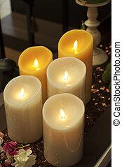 candela, salute, spa.