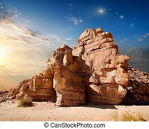 canyon, inizio mattina