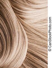 capelli, biondo, struttura