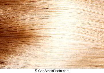 capelli, struttura, hair., biondo, biondo