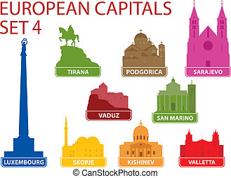 capitali, europeo