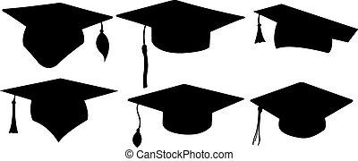cappelli, graduazione