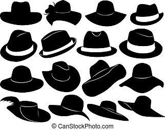 cappelli, illustrazione