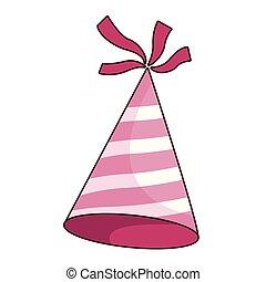 cappello compleanno, cartone animato