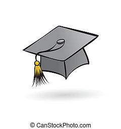 cappello, studente, laureato