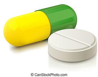capsula, pillola