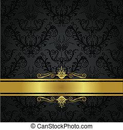 carbonella, copertina, lusso, oro