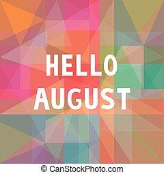 card1, ciao, agosto