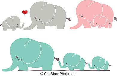 carino, elefante