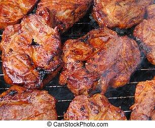 carne, bbq
