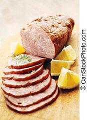 carne di maiale, prosciutto