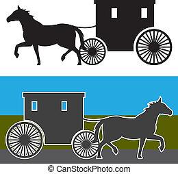 carrello, amish