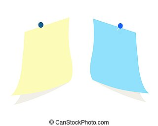 carta, fondo, nota, bianco