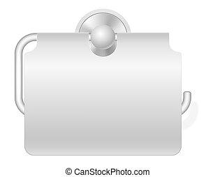carta, gabinetto, vettore, supporto, illustrazione