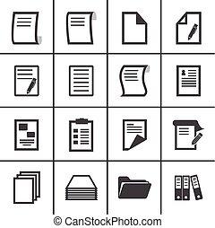 carta, icone
