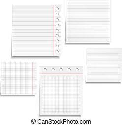 carta, quaderno