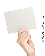carta, segno mano, esposizione