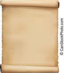 carta, vecchio, sheets., vettore