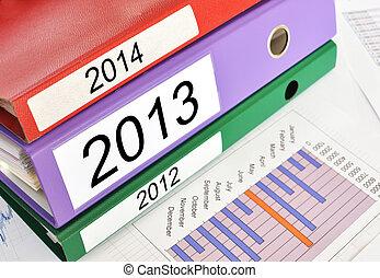 cartelle, 2012, relazione, finanziario