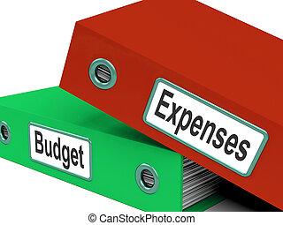 cartelle, affari, pianificazione finanziaria, budget, spese, finanze, media