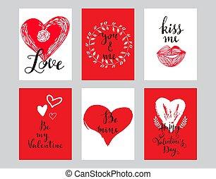cartelle, amore, 7, set