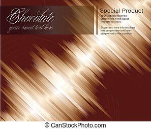 cartelle, priorità bassa strisce, cioccolato