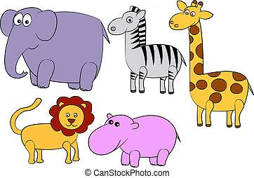cartone animato, animale