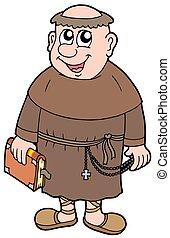 cartone animato, monaco