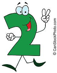cartone animato, numbers-2