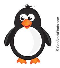 cartone animato, pinguino