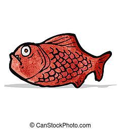 cartone animato, piranha