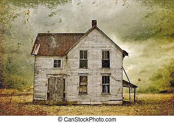 casa, abbandonato