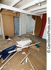 casa, demolendo