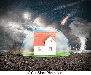 casa, protezione