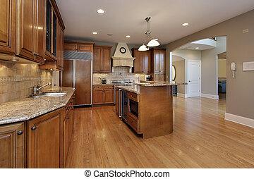 casa, remodeled, cucina