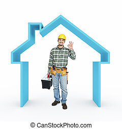 casa, riparazione