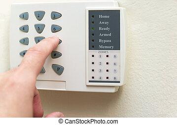 casa, sistema allarme