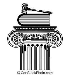 caso, legge, prevailing