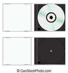 caso, musica, vuoto, cd