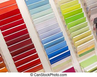 catalogo, colori