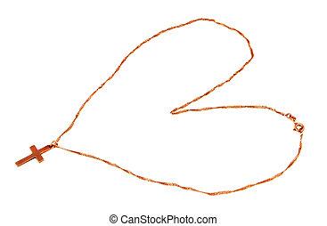 catena, cuore, croce