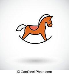 cavallo giocattolo