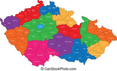 ceco, mappa, repubblica