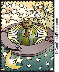 celestiale, meridiana