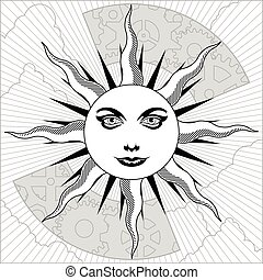 celestiale, sole